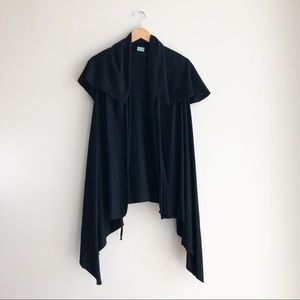 Cuff Luv | NWOT Black Trench Cardigan